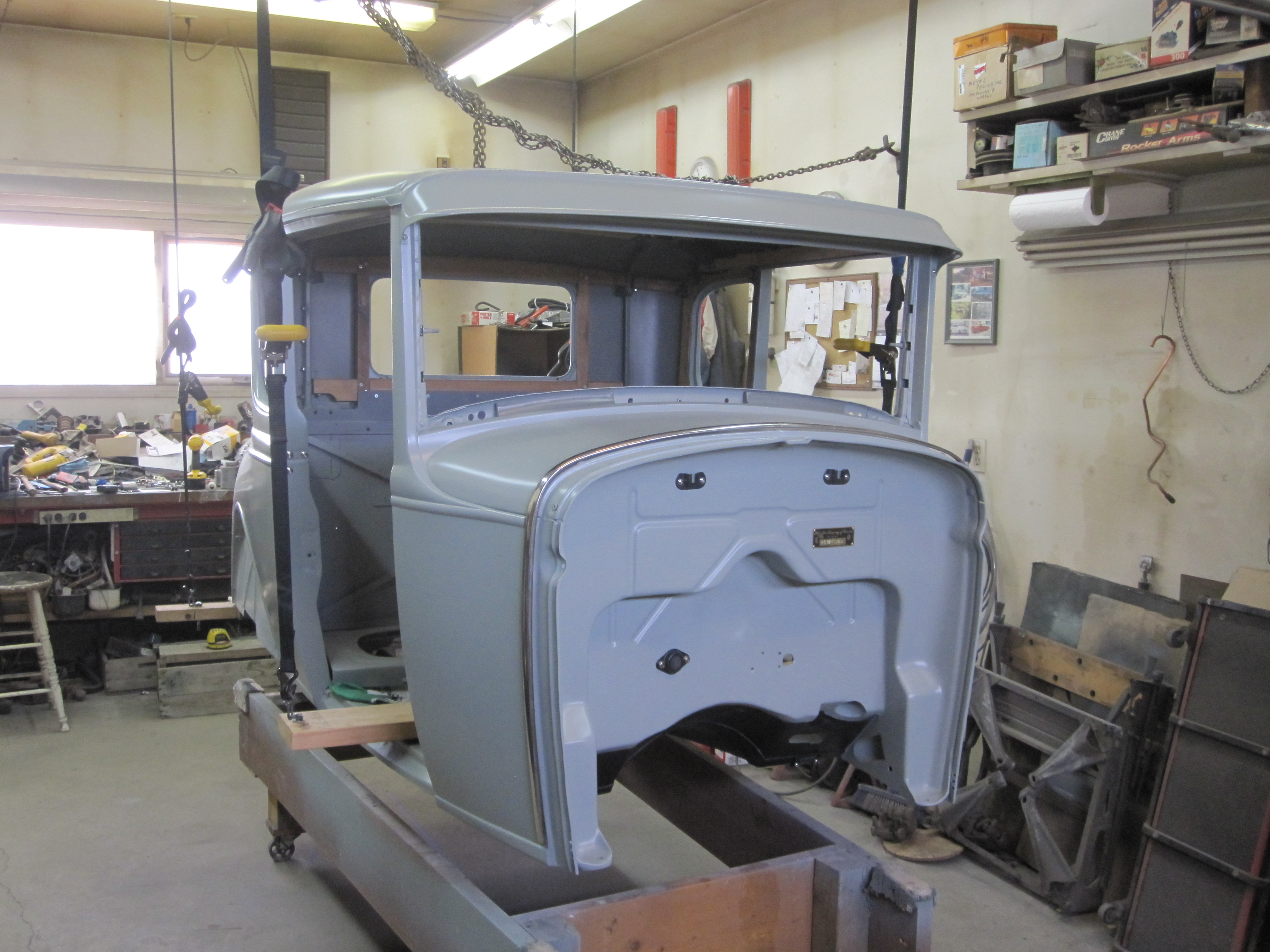 Building A 1930 Ford Coupe Hot Rod Take Look At The Blog To See Model Electrical Wiring Img 2430 Lifting Body 1